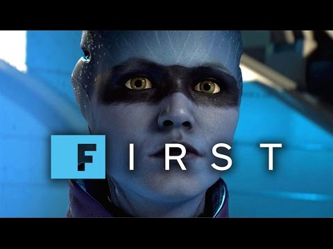 17 Minutes of Mass Effect Andromeda: Peebee's Loyalty Mission Gameplay (4K 60fps) - IGN First