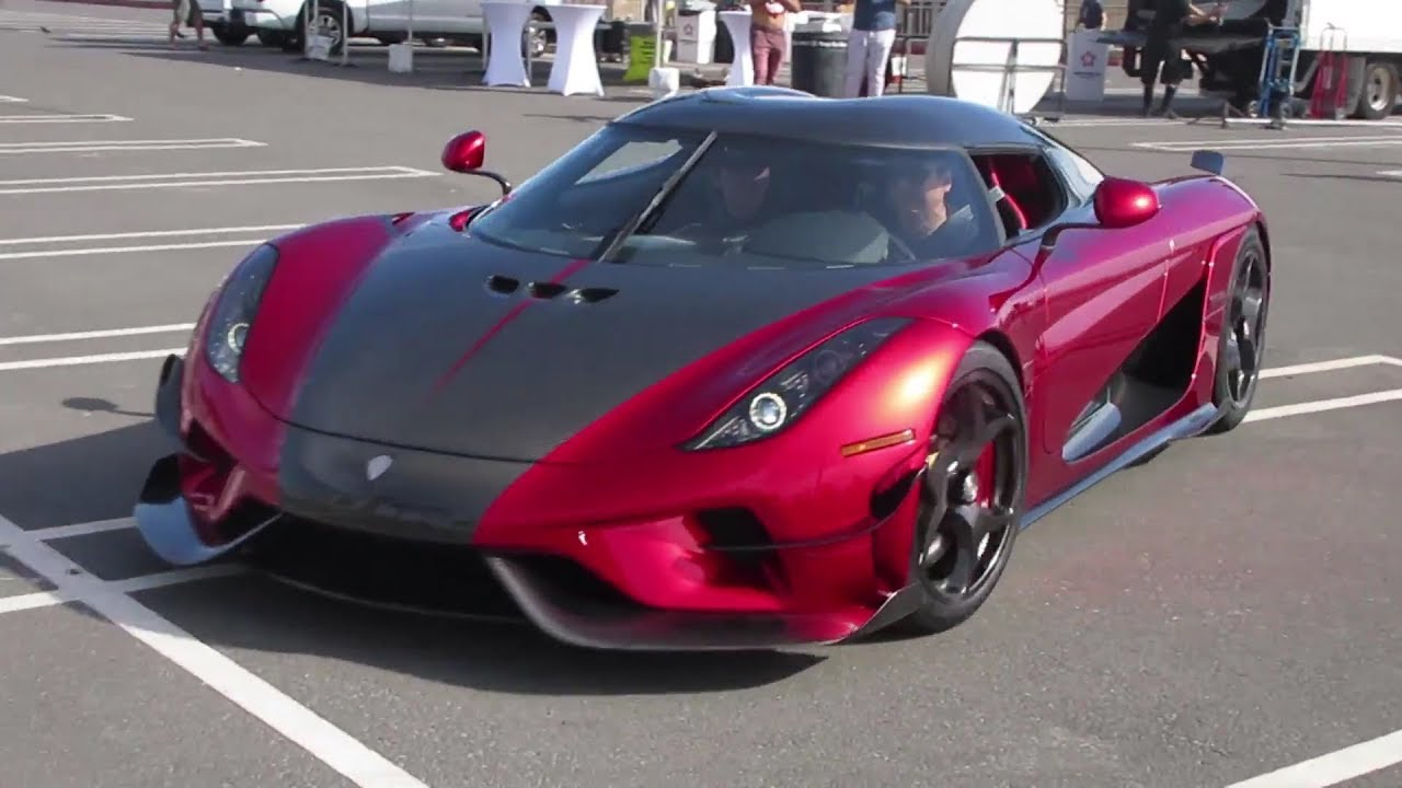 Brand New 1 500 Hp Koenigsegg Regera