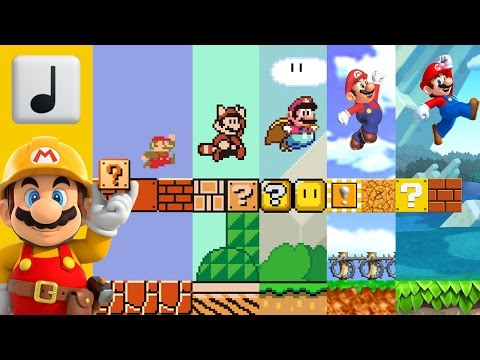 Super Mario Bros  Overworld Music  In 4 Styles 3World64New LarryInc64