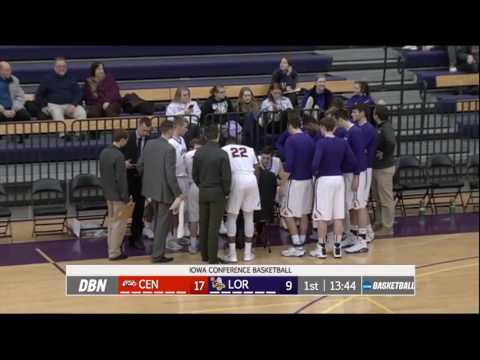 Central College Dutch vs Loras College Duhawks- Men's Basketball
