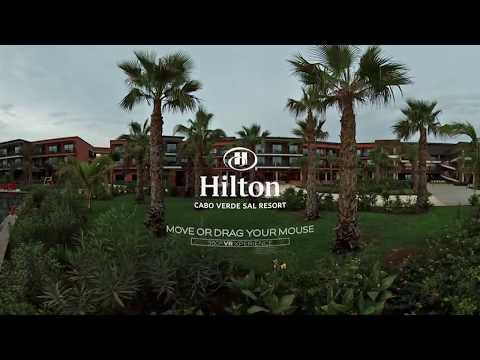 360º Video of Hilton Cabo Verde Sal Resort