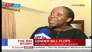 The Big Story: Gender bill flops