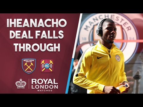 Iheanacho to West Ham is OFF due to Bilic | Leaked by club