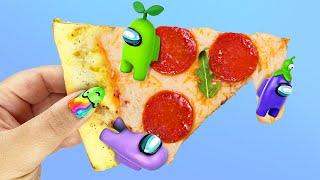Abro la PIZZA AMONG US Sorpresa! #Shorts
