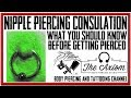 Nipple Piercings   What You Should Know Before Getting Pierced