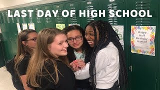 last day of high school vlog *lots of crying*