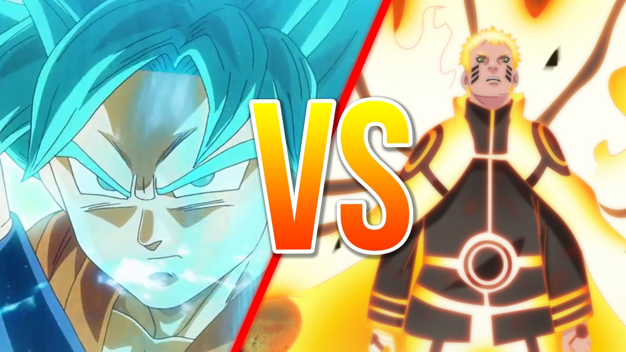 goku vs naruto youtube