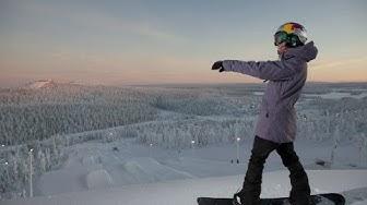 Meet professional snowboarder, Enni Rukajärvi