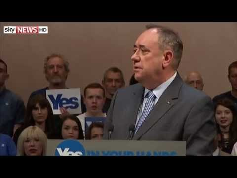 Alex Salmond's Final Push For Votes