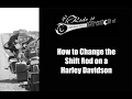 How to Change the Shift Rod on a Harley Davidson