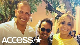 Gambar cover Alex Rodriguez Sits With Jennifer Lopez & Marc Anthony At Their Son's Choir Concert | Access