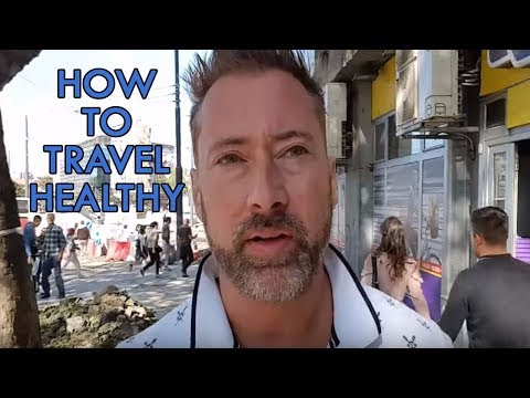 Staying Healthy While Traveling - A Typical Travel Day in Belgrade, Serbia