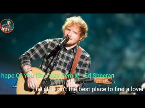 Ed Sheeran - Shape Of You (Stormzy Remix) LYRICS