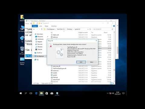 (YENİ) Windows 10,8,7 Silinmeyen Dosyaları Silme