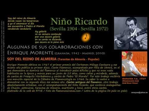 Soy del Reino de Almeria (Tarantas de Almería) - Enrique Morente acompañado por Niño Ricardo