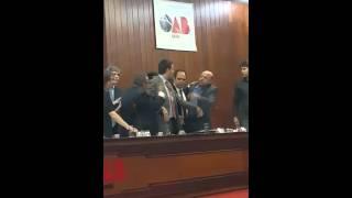 Vereador Djalma Araújo e promotor Goiamilton Machado batem boca