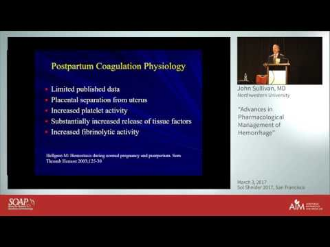 Advances in Pharmacological Management of Hemorrhage - John