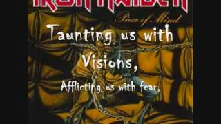 Die with your boots on - Iron Maiden (lyrics)