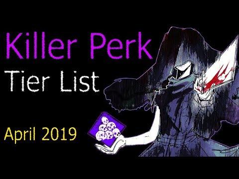 Dead by Daylight - Killer Perk Tier List (April 2019)