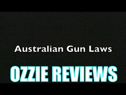 Australian Gun Laws (explained)