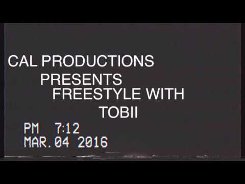 "TOBII - ""about to be professional"" freestyle to PANDA DESIIGNER instrumental by Cal Productins"