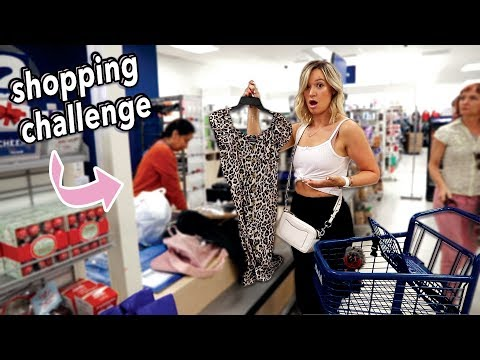 Letting the Person In Front of Me Decide What I Buy Challenge!