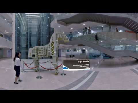A 360 degree video walkthrough of HCL