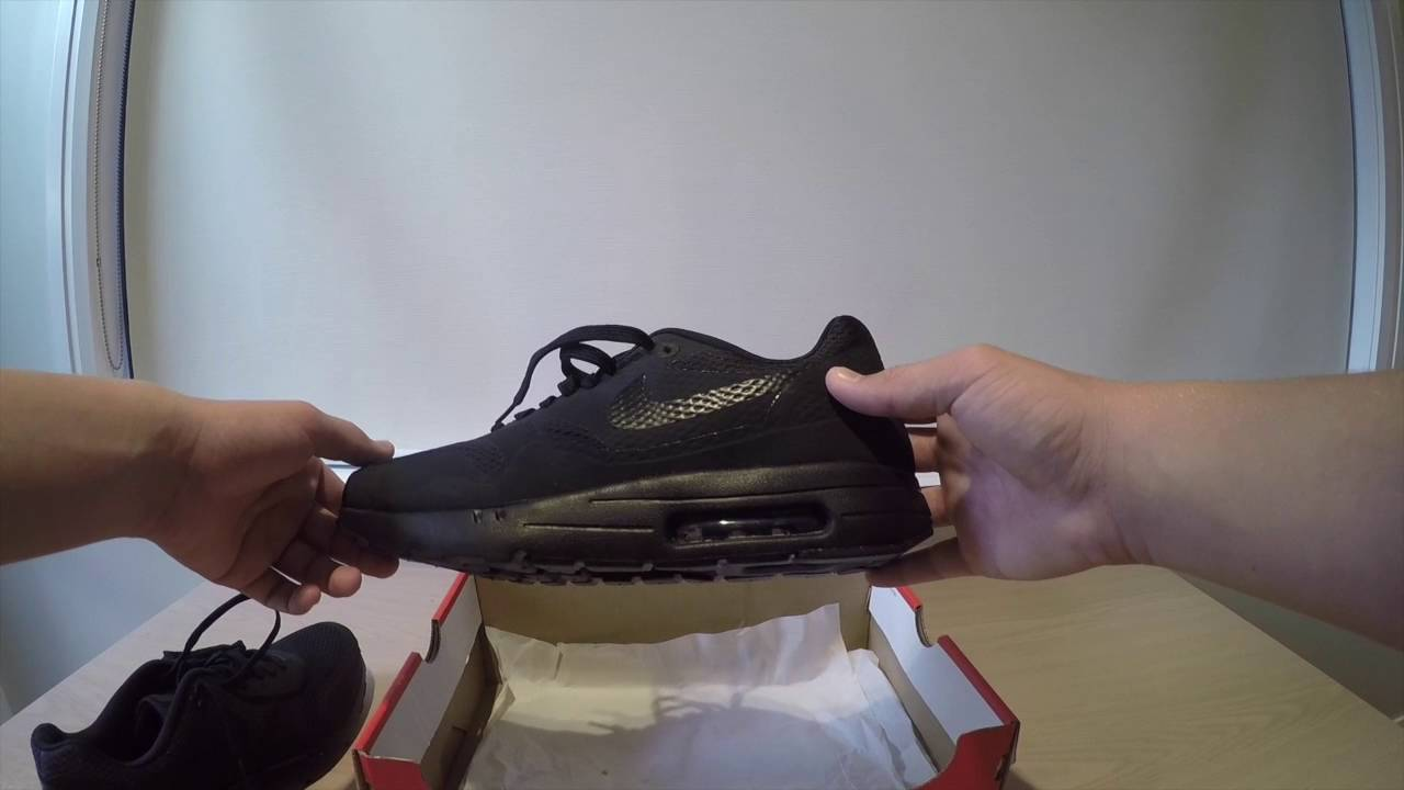 Unboxing and On feet Nike Air Max 1 Ultra Essential