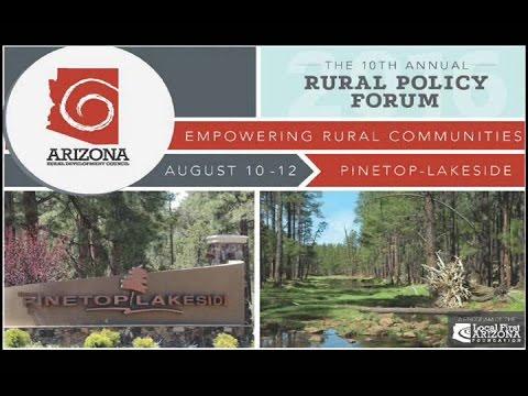2016 Arizona Rural Policy Forum
