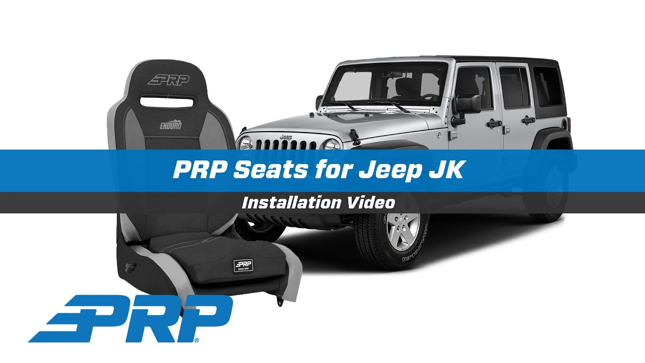 PRP Seats for Jeep JK - YouTube
