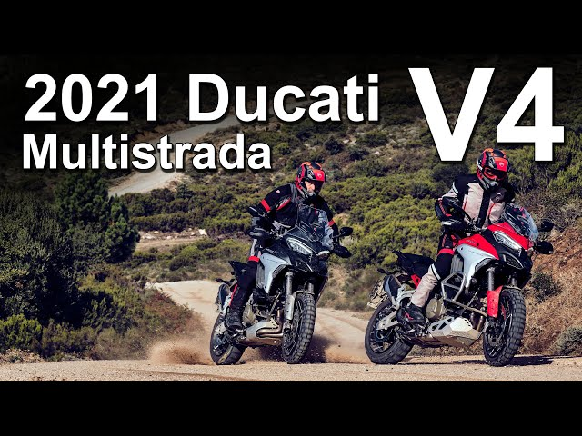 2021 Ducati Multistrada V4 & V4 S - Pricing and Specifications