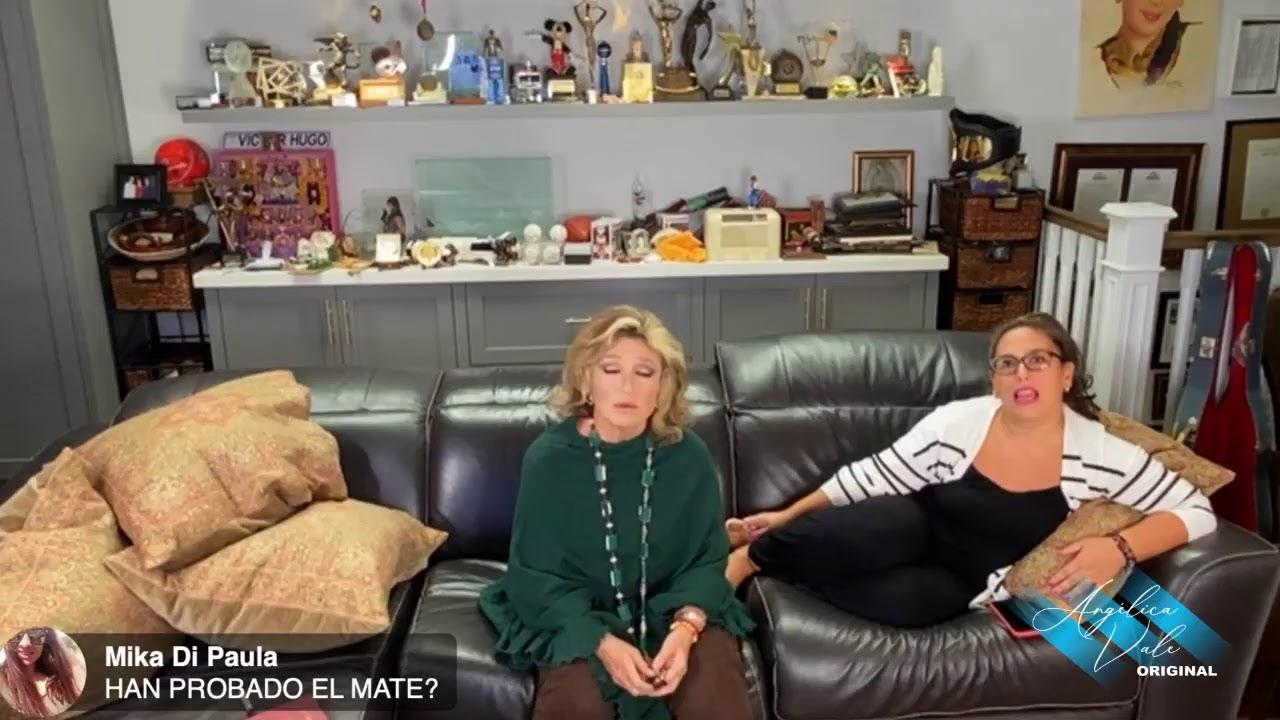Live Stream desde mi casa para platicar y convivir con los fans. Angélica Vale y Angélica María.