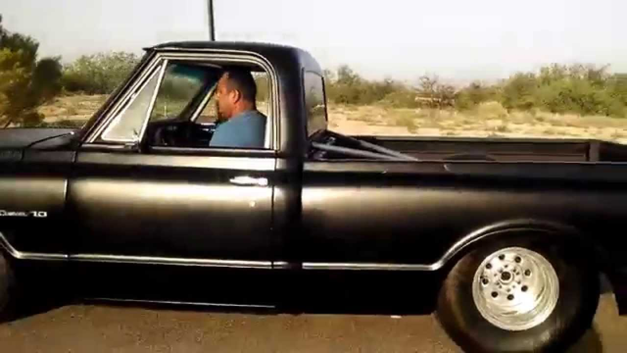 Long Bed Chevy Drag Truck