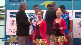 Podelitev medalj  Nik Krebs Miha Aljančič JM2X