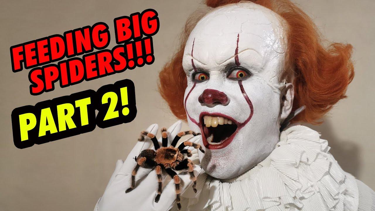 Pennywise feeds HUGE Spiders (PART 2) + NEW CREEPY CRAWLIES! | Prince De Guzman Transformations