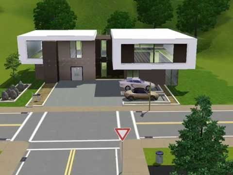 Modern House Casa Caf THE SIMS 3 YouTube
