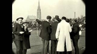 July 22, 1902 Time Machine - Track and Field Day in England (speed corrected w/ added sound)