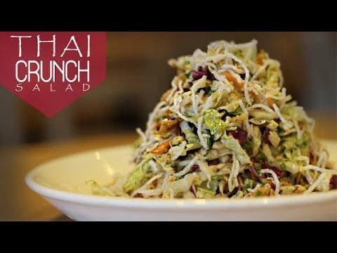 Thai Crunch Salad | Ventuno ChefsCorner - YouTube
