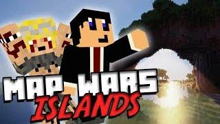 WE GAAN TOCH DOOR!! | Map Wars Island Met Job | #9