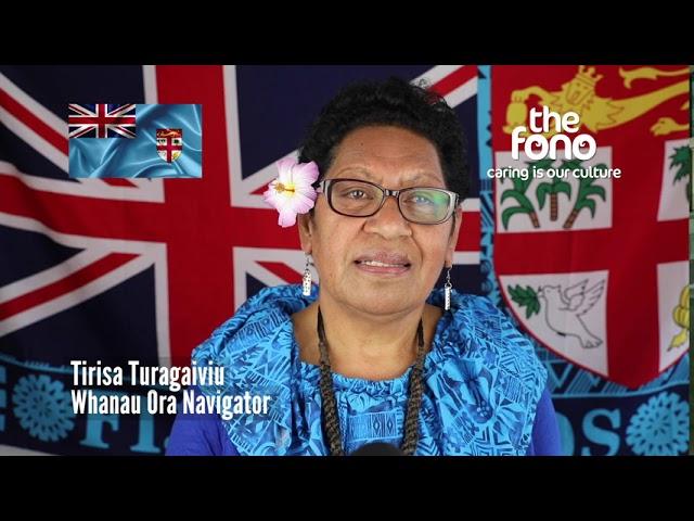 The Fono | End of Fiji Language Week & Fijian 50th Anniversary | Message from Tirisa Turagaiviu