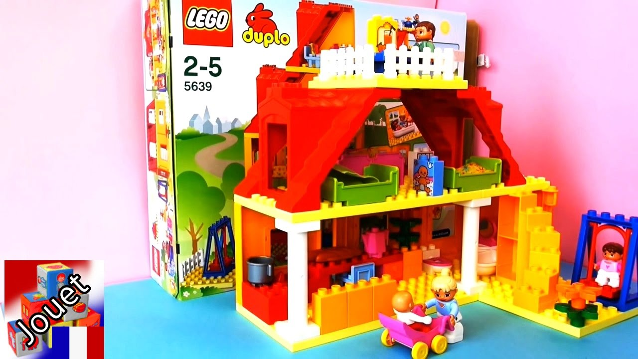 duplo ville maison de famille lego demo partie 2 youtube. Black Bedroom Furniture Sets. Home Design Ideas