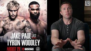 Gilbert Burns said Jake Paul WILL beat Tyron Woodley...