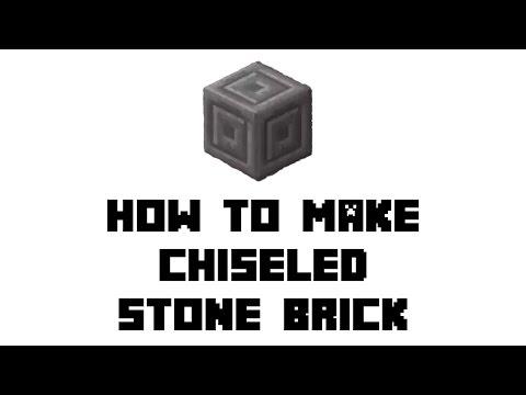 How to make stone bricks in minecraft pe