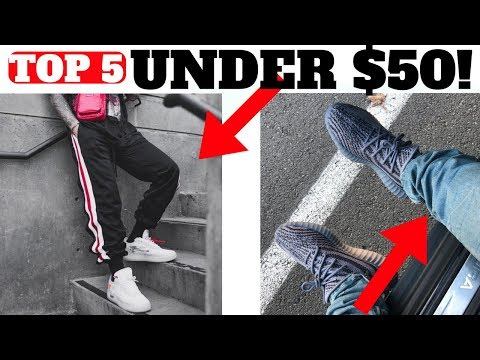 Top 5 PANTS Under $50 For SNEAKERS!!