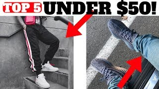 Top 5 PANTS For SNEAKERS Under $50!!!