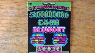 1X $200,000,000 Cash Blowout - TX Lottery Scratch Off