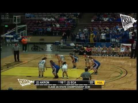 2012 CHSAA Girls Class 2A Semifinal - Akron Vs Evangelical Christian
