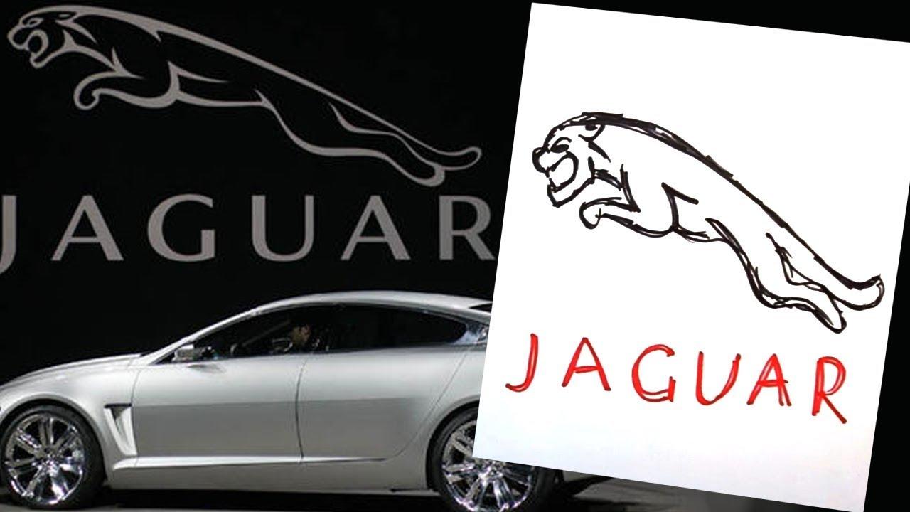 How to draw jaguar logo auto logo car youtube how to draw jaguar logo auto logo car buycottarizona