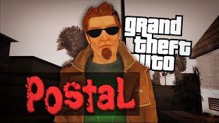 ПОСТАЛ в ГТА / Обзор мода для GTA San Andreas: Postal