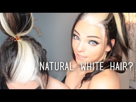 All about WHITE HAIR | Stef Sanjati